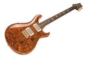 PRS USA Custom 24 Wood Library Y7 (CP) - Copperhead Quilt Artist Top & Neck PV