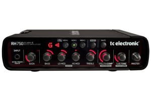 TC Electronic RH750 programmable bass amp