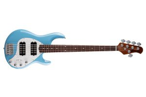 Music Man USA Stingray 5 Special HH CZ - Chopper Blue RW