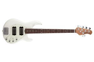 Music Man USA Stingray 5 Special HH IW - Ivory White RW