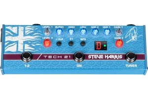 Tech 21 USA SansAmp Steve Harris SH1 Signature