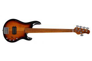 Music Man USA Stingray 5 Special BFR Fretless - Vintage Sierra Burst - Limited Edition
