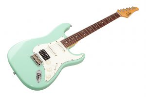Suhr Classic S Antique HSS SG - Surf Green RW