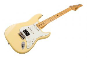 Suhr Classic S Antique HSS VY - Vintage Yellow MN