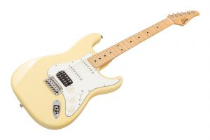 Suhr Classic S HSS VY - Vintage Yellow MN