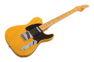 Suhr Classic T Antique SS TBS - Trans Butterscotch MN