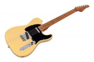 Suhr Classic T Paulownia SS Ltd TVY - Trans Vintage Yellow MN