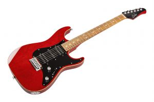 Suhr John Suhr Signature Standard HSH TR - Trans Red - Limited Edition