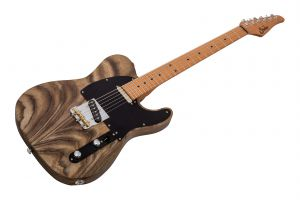 Suhr Modern T Andy Wood Signature SS WHB - Whiskey Barrel MN