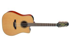 Takamine P3DC-12 Pro Series - Natural Satin