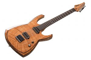 UniCut Shoto Doubleblade Deluxe 10th Anniversary - Flame Maple Walnut Bogoak