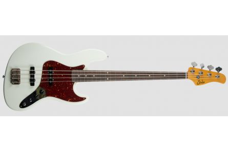 Suhr Classic J Antique Bass SS OW - Olympic White RW