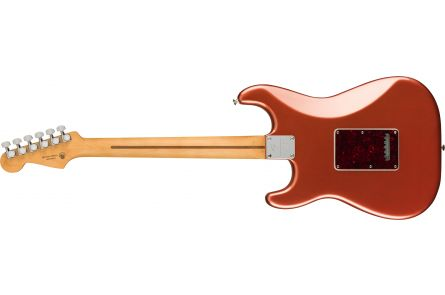 Fender Player Plus Stratocaster, PF - Aged Candy Apple Red