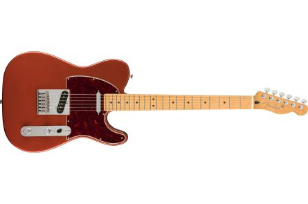Fender Player Plus Telecaster, MN - Aged Candy Apple Red