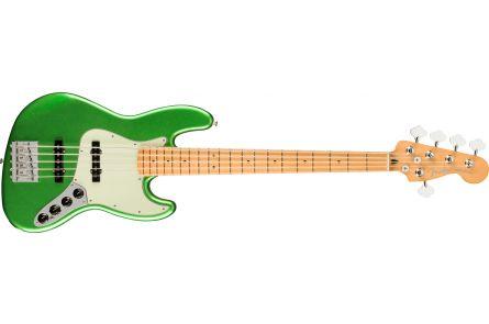 Fender Player Plus Jazz Bass V, MN - Cosmic Jade