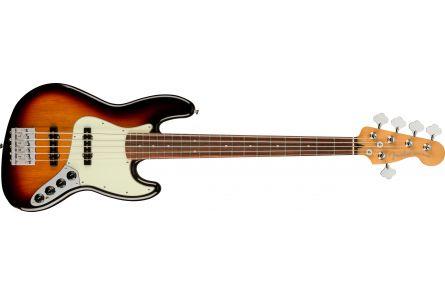 Fender Player Plus Jazz Bass V, PF - 3-Tone Sunburst