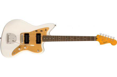 Fender Squier FSR Classic Vibe Late '50s Jazzmaster, LRL, Gold Anodized Pickguard, White Blonde