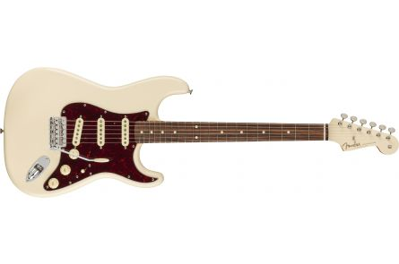 Fender Vintera '60s Stratocaster PF - Olympic White MH - DE Limited Edition