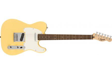 Fender Squier FSR Bullet Telecaster, LRL, Parchment Pickguard, Vintage White