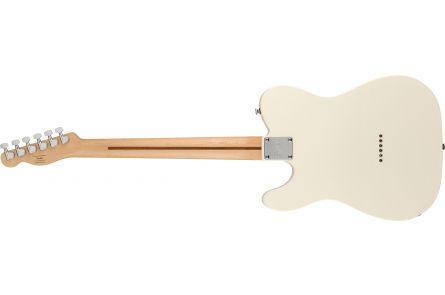 Fender Squier FSR Bullet Telecaster, MN - Black Pickguard, Olympic White