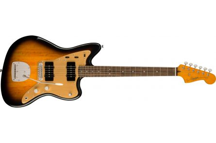 Fender Squier FSR Classic Vibe Late '50s Jazzmaster LRL - 2-Tone Sunburst Gold Anodized PG