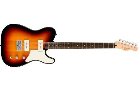 Fender Squier Paranormal Baritone Cabronita Telecaster, LRL, Parchment Pickguard, 3-Color Sunburst