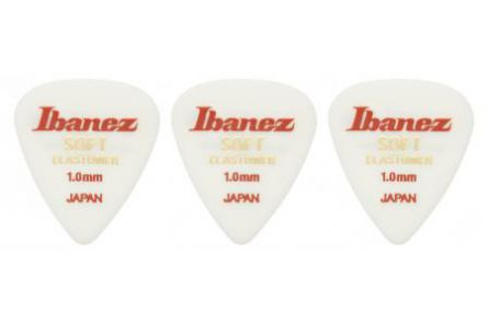 Ibanez BEL14ST10 ELASTOMER Guitar Pick - 1.00mm - 3 Pack
