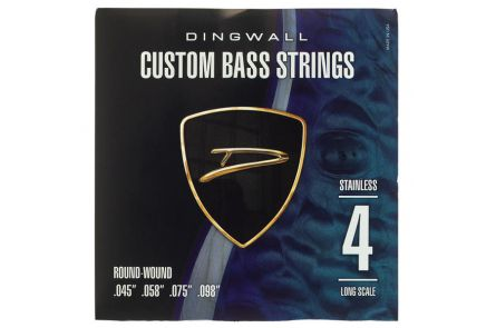 "Dingwall Long Scale 4-string Set - Stainless Steel .045"" - .098"""