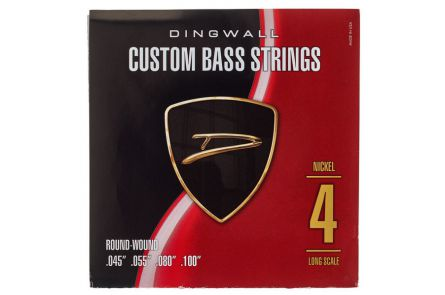 "Dingwall Long Scale 4-string Set - Nickel Plated Steel .045"" - .100"""
