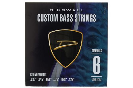"Dingwall Long Scale 6-string Set - Stainless Steel .030"" - .127"""