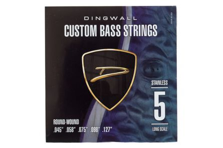 "Dingwall Long Scale 5-string Set - Stainless Steel .045"" - .127"""