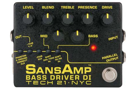 Tech 21 USA SansAmp Bass Driver D.I. V2