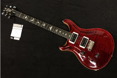 PRS USA Custom 24 Lefthand LTD 10-Top T3 (RI) - Red Tiger Satin - Flame Maple Neck - Ebony FB