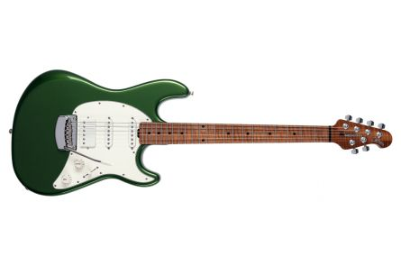 Music Man USA Cutlass RS HSS Guitar EV - Charging Green MN