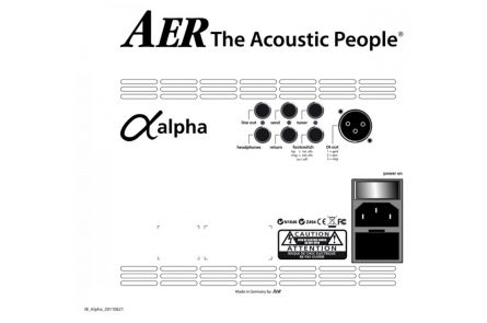 AER Alpha Acoustic Combo