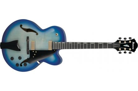 Ibanez AFC155 JBB Contemporary Archtop - Jet Blue Burst