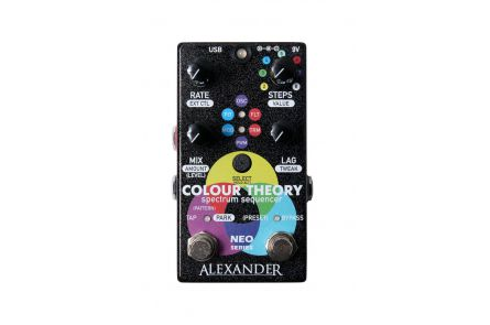 Alexander Pedals Colour Theory - Spectrum Sequencer