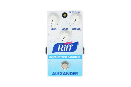 Alexander Pedals The Riff - Instant Tone Sanitizer - Booster / Overdrive