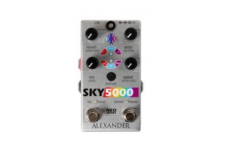 Alexander Pedals Sky 5000 - Delay / Reverb