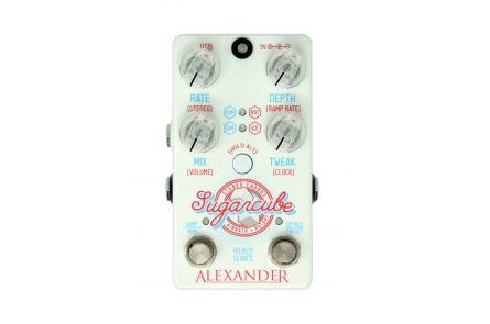 Alexander Pedals Sugarcube - Stereo Chorus / Vibrato / Rotary