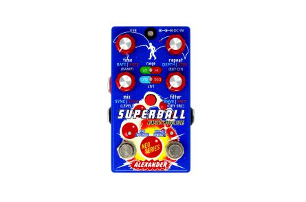 Alexander Pedals Superball - Modulated Delay