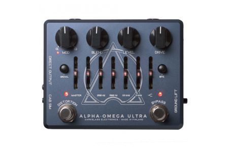 Darkglass Alpha-Omega Ultra V2 Aux In - 1x opened box