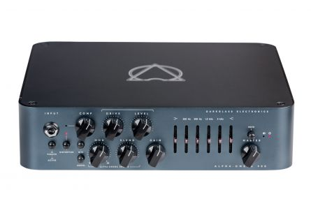 Darkglass Alpha-Omega 900 Bass Head incl. Intelligent Footswitch - 1x opened box
