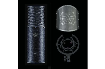 Aston Microphones Spirit Black Limited Edition Bundle - 1x opened box