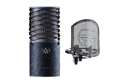 Aston Microphones Origin Black Bundle