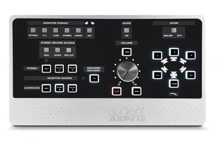 Audient ASP510 - Stereo & surround sound monitor controller