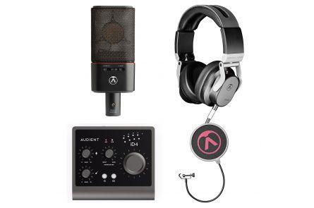 Austrian Audio Home Studio Bundle Pro - incl. OC18 + Hi-X50 + OCP8 + Audient iD4 MkII