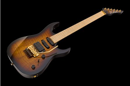 B.C. Rich USA Custom Shop ASM Deluxe Neck-Thru TB - Tobacco Burst