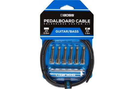 Boss BCK-6 Solderless Pedalboard Cable Kit
