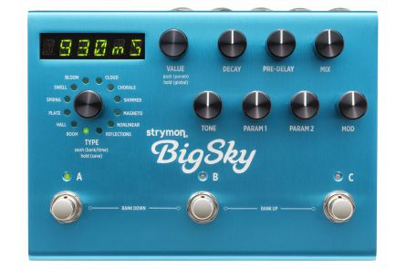 Strymon Big Sky - b-stock (1x opened box)